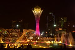 The BAITEREK tower in Astana / Kazakhstan Royalty Free Stock Photos