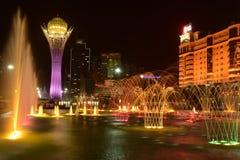 The BAITEREK tower in Astana / Kazakhstan Stock Images