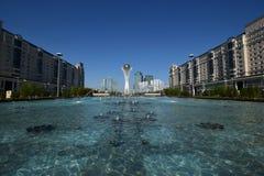 The BAITEREK tower in Astana Stock Image