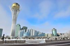 The BAITEREK tower in Astana / Kazakhstan Stock Photo