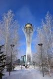 The BAITEREK tower in Astana / Kazakhstan Royalty Free Stock Images