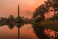 Baitul Aman Mosque Barishal, Μπανγκλαντές στοκ εικόνες με δικαίωμα ελεύθερης χρήσης