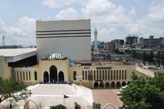 Baitul Mukarram国民清真寺 免版税图库摄影