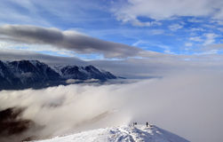 Baiu Mountains Royalty Free Stock Photography
