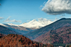 Baiului mountains Royalty Free Stock Photography