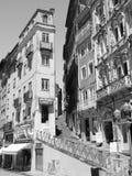 科英布拉,葡萄牙-从` baixa de科英布拉`的看法 库存照片