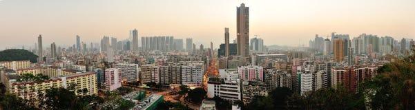 Baixa de Hong Kong Foto de Stock