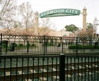 Baixa de Redwood City foto de stock royalty free