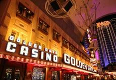 Baixa histórica, rua Las Vegas de Fremont Fotografia de Stock Royalty Free