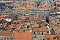 Baixa Historic District, Lisbon, Portugal Stock Photos