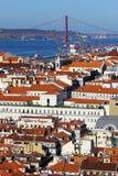 Baixa, Lisbon, Portugal Stock Images