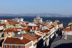 Baixa, Lisbon, Portugal Royalty Free Stock Photo