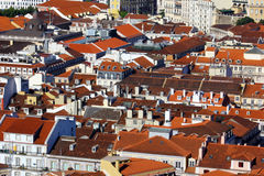 Baixa, Lisbon, Portugal Royalty Free Stock Photos