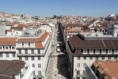 Baixa, Lisbon, Portugal Stock Photo