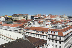Baixa, Lisbon, Portugal Royalty Free Stock Photography
