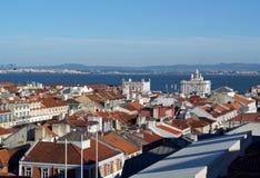 Baixa, Lisbon, Portugal Stock Image