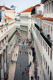 Baixa, Lisbon Royalty Free Stock Images