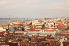 Baixa Lisbona Fotografia Stock Libera da Diritti