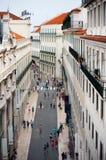 Baixa, Lisbona Immagini Stock Libere da Diritti