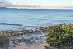 Baixa maré no mar Imagem de Stock Royalty Free