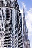 Baixa moderna de Dubai Imagens de Stock Royalty Free