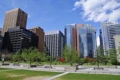 Baixa moderna em Calgary, Alberta Canada Imagem de Stock