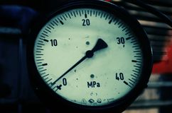 Baixa pressão foto de stock
