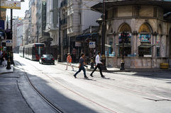 Baixa velha de Istambul Imagem de Stock