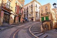 Baixada Misericordia w Tarragona Catalonia zdjęcie royalty free