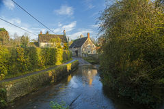 Baixio da vila de Lacock Fotografia de Stock Royalty Free