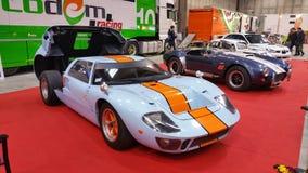 Baixio GT 40 do golfo na exposição aberta para trás Fotos de Stock