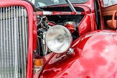 baixio vermelho dos anos 40 restaurado Fotografia de Stock Royalty Free