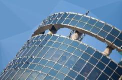 Baixo arranha-céus poli Imagem de Stock Royalty Free