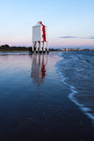 Baixo Burnham-em-mar do farol Imagens de Stock Royalty Free