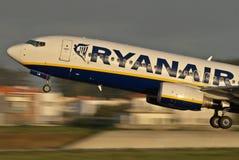 Baixo custo de Ryanair Imagem de Stock