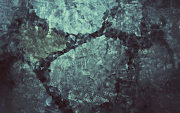 Baixo fundo abstrato do cinza do polígono Fotos de Stock Royalty Free