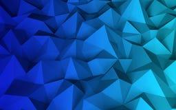 Baixo fundo geométrico poli abstrato Foto de Stock Royalty Free