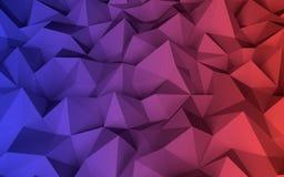 Baixo fundo geométrico poli abstrato Imagens de Stock