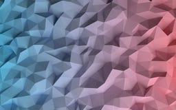 Baixo fundo geométrico poli abstrato Fotografia de Stock