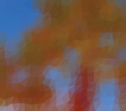 Baixo fundo poli calidoscópico do mosaico do estilo do triângulo Imagens de Stock