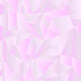 Baixo fundo poli pálido do inclinação cinzento e violeta Teste padrão poligonal geométrico Fotos de Stock Royalty Free