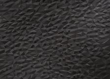 Baixo fundo poli preto cinzento foto de stock