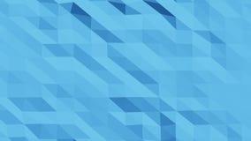 Baixo Morphing de superf?cie poli bonito em 3d abstrato rende Sum?rio sem emenda do fundo - ilustra??o ilustração stock