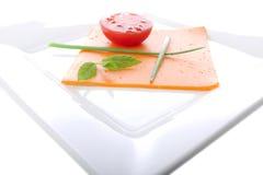 Baixo - pequeno almoço gordo da dieta Imagem de Stock