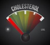 baixo projeto da ilustração do nível de colesterol Imagens de Stock Royalty Free
