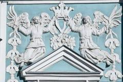Baixo-relevo na catedral de Sophia de Saint em Kiev Foto de Stock