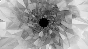 Baixo túnel poli Ilustração de Digitas Fotografia de Stock Royalty Free