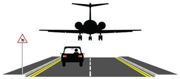 Baixo vôo ilustração stock