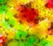 Baixo vetor poligonal Fotos de Stock Royalty Free