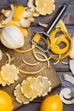 Baixos limões chaves Fotografia de Stock